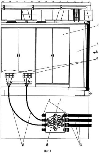 Блок управления газоперекачивающего агрегата