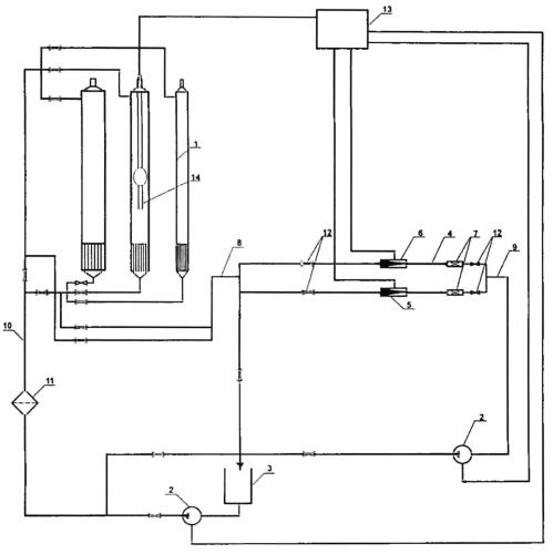 Установка для калибровки скважинных жидкостных расходомеров