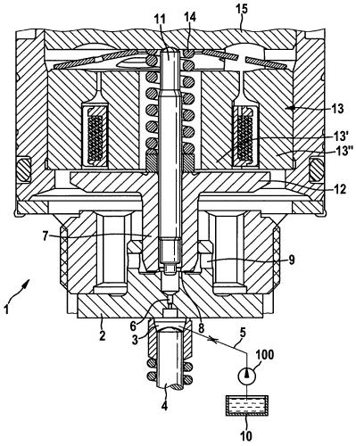 Управляющий клапан топливной форсунки