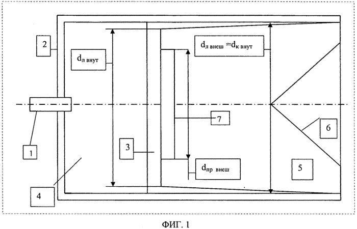 Устройство управления формой фронта детонационной волны