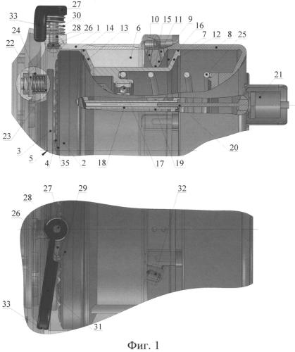 Комбинированный гидромеханический привод переключения диапазонов планетарной согласующей коробки передач