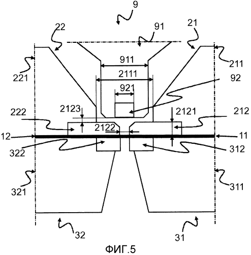 Машина для стыкового соединения стальных полос, выполненная с возможностью индукционной термической обработки сварных швов стыкового соединения