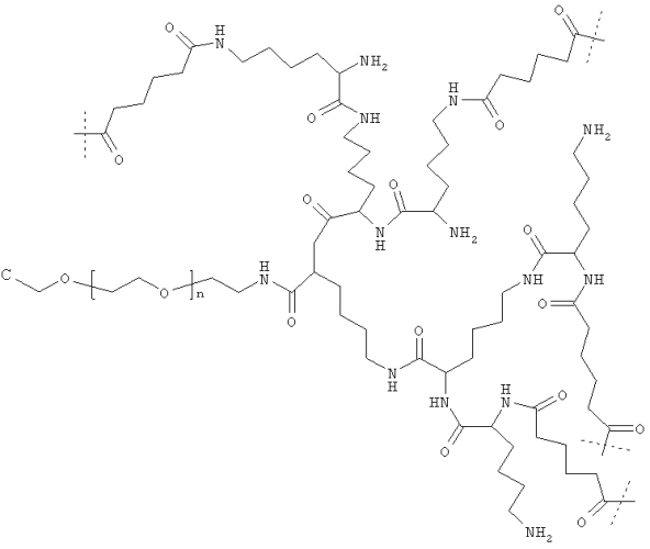 Биоразлагаемые нерастворимые в воде гидрогели на основе полиэтиленгликоля