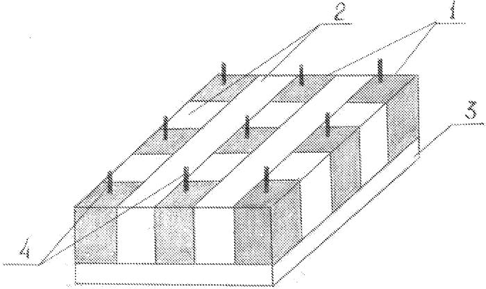 Способ изготовления детектирующей матрицы рентгеновского излучения