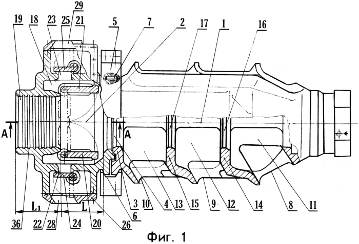 Дульный тормоз артиллерийского орудия