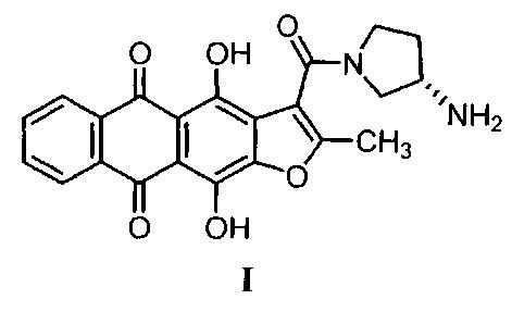 Противоопухолевый антрафурандион и фармацевтические композиции на его основе