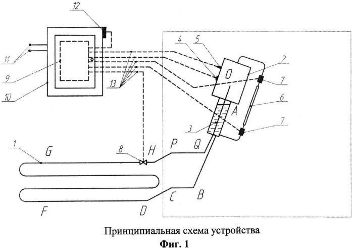 Прямоточное естественно-конвективное охлаждающее устройство для термостабилизации мерзлого грунта
