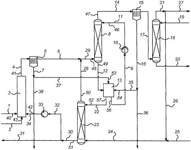 Способ и устройство для удаления смол из синтез-газа, полученного во время газификации биомассы