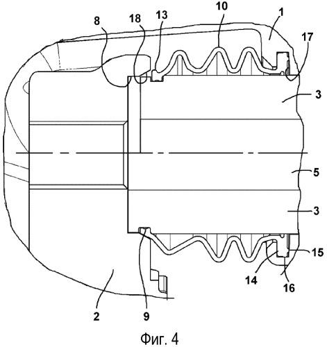 Дисковый тормозной механизм, в частности для грузовых автомобилей, и уплотнение для такого дискового тормозного механизма