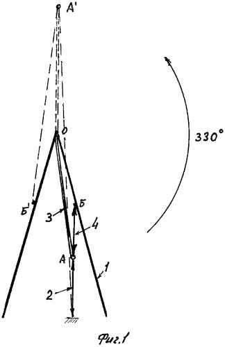 Устройство для поворота детали на угол до 330 градусов (варианты)