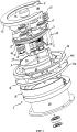 Рукавный насос с планетарной зубчатой передачей