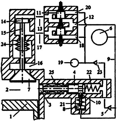 Способ амортизации ударных нагрузок на газораспределительный клапан двигателя внутреннего сгорания системой гидравлического привода газораспределительного клапана