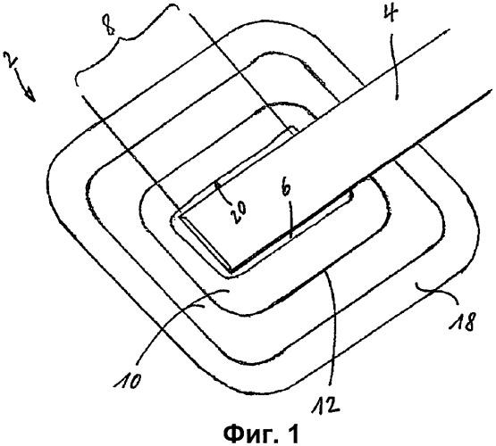 Соединительное устройство для применения в лечении ран отрицательным давлением