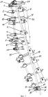 Комбинированный аппарат чрескостной фиксации стержневого типа для лечения переломов костей
