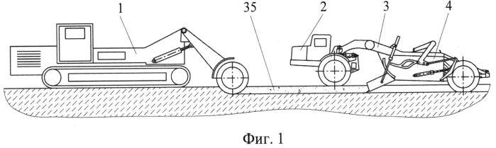 Способ разработки месторождений твердых полезных ископаемых с применением землеройно-фрезерной машины и скреперов