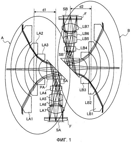Широкоугольный объектив и устройство формирования изображений