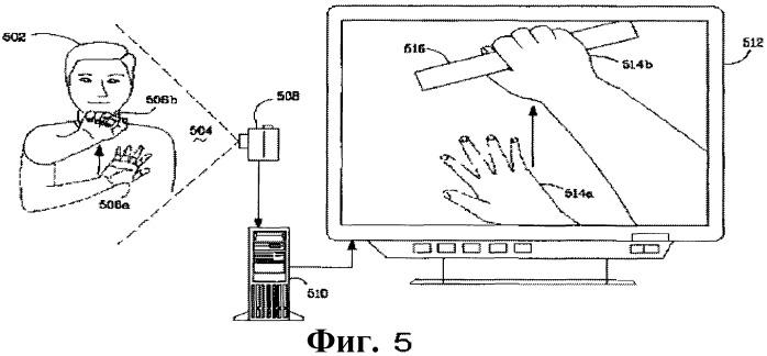 Манипулирование виртуальным объектом