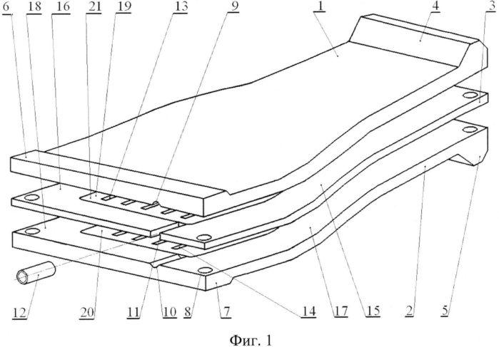 Способ изготовления полой вентиляторной лопатки