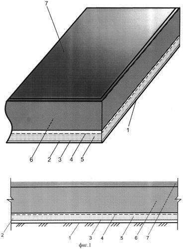 Способ создания противофильтрационного покрытия на накопителях жидких отходов