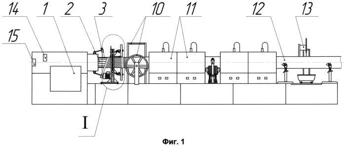 Способ и устройство непрерывного изготовления неметаллических труб и неметаллическая труба