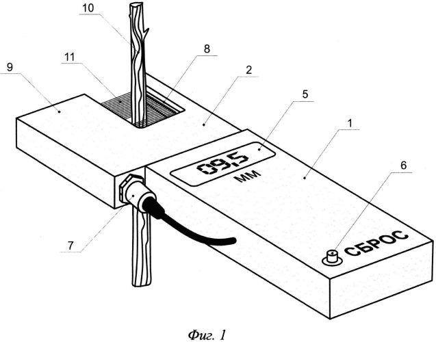 Устройство для измерения диаметра