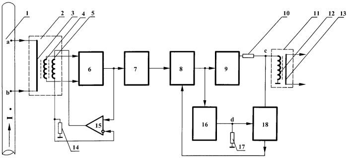 Электронный трансформатор тока