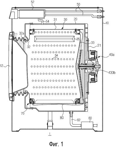 Электродвигатель, используемый в стиральной машине, и стиральная машина, содержащая его