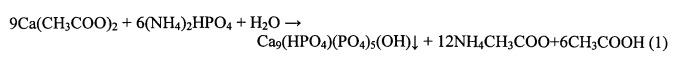 Способ получения субмикронной бифазной керамики на основе трикальцийфосфата и гидроксиапатита