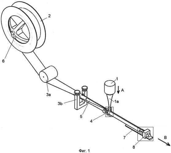 Устройство для изготовления цилиндрических трубок для газонаполненных дрейфовых детекторов ионизирующего излучения