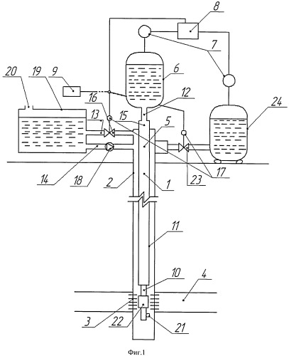 Способ обработки и очистки призабойной зоны скважины и устройство для его осуществления