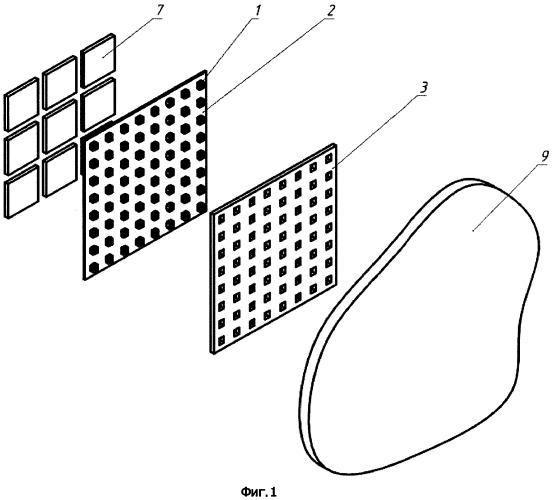 Способ и устройство магнитного крепления светодиодного модуля к светопрозрачному листу