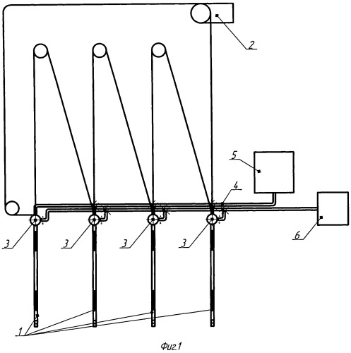 Система дистанционного контроля состояния зерна при хранении