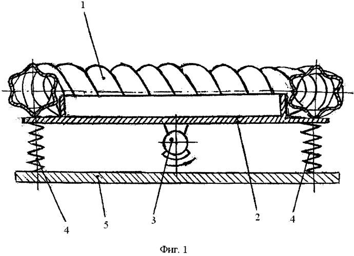 Устройство вибрационное для смешивания сыпучих материалов