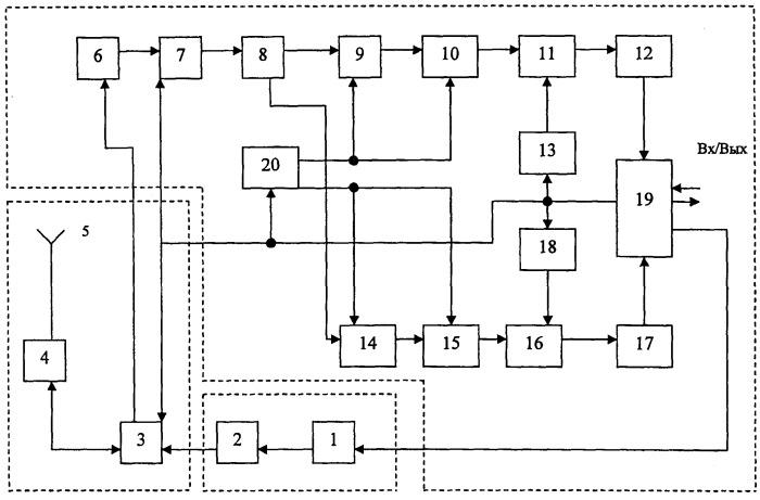 Система связи с высокой скоростью передачи информации сверхширокополосными сигналами