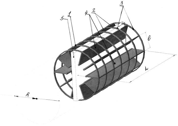 Плавающий полимерный элемент загрузки для биологической очистки сточных вод