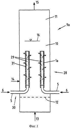 Способ и устройство для использования кислорода при парореформинге биомассы
