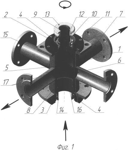 Клапан-пульсатор роторного типа