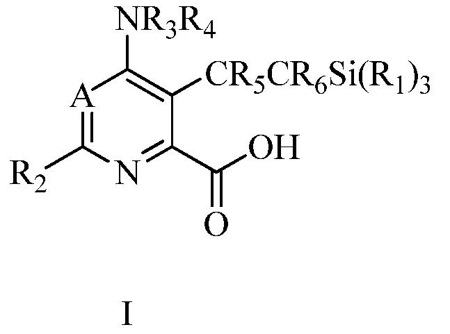 6-амино-2-замещенные-5- винилсилилпиримидин-4-карбоновые кислоты и сложные эфиры и 4-амино-6-замещенные-3-винилсилилпиридин-пиколиновые кислоты и сложные эфиры как гербициды