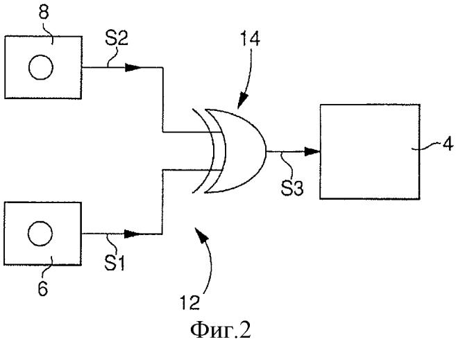 Портативное электронное устройство, в частности электронная карта с оптическим переключателем