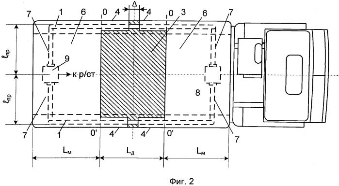 Бортовая коротковолновая антенна подвижного объекта