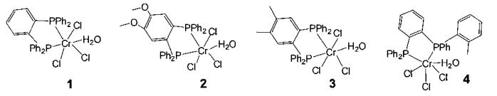 Каталитическая система тримеризации этилена в альфа-олефины с использованием комплекса хрома