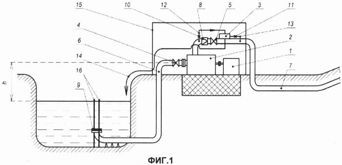 Система промысловой подготовки воды для поддержания пластового давления