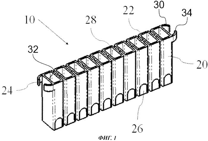 Упаковка для манипулирования кюветами