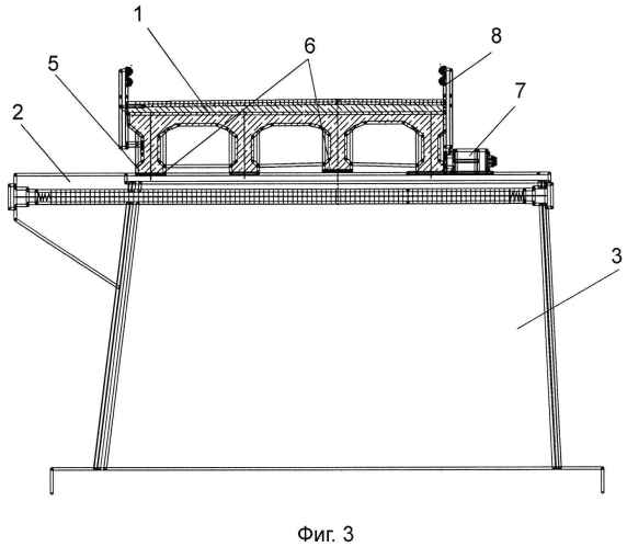 Способ реконструкции моста с использованием поперечной передвижки существующего железобетонного монолитного пролетного строения