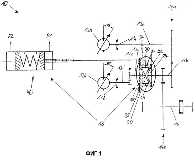 Приводное устройство для автомобильной рабочей машины