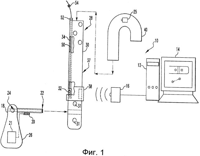 Система и способ для определения местоположения рельефного ориентира