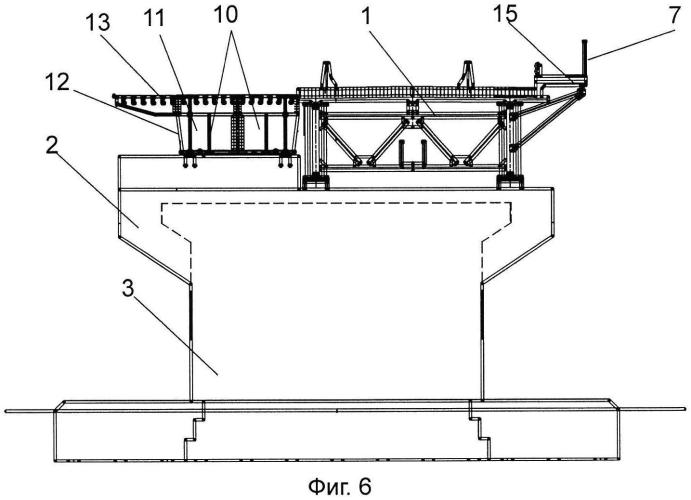 Способ поперечной передвижки пролетного строения моста на уширенный ригель