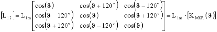 Способ векторного управления скоростью вращения трехфазной машины
