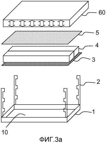 Реакционная камера для экзотермического материала