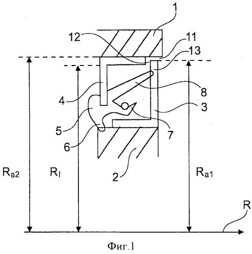 Кассетное уплотнение для радиального подшипника и способ его монтажа
